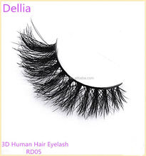 Dellia Original Multi-Layered Technique No Animals Are Harmed Human Hair False Eyelashes