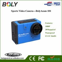 10.0 - 20.0MP MegaPixel and MicroSD / TF Memory Card Type Li-ion Battery Sport Action Camera