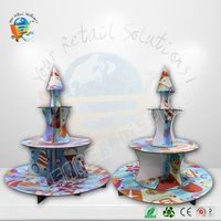 Customized cake display racks ceramic dinnerware with animal design