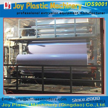 PVC flex banner sheet production line/machine