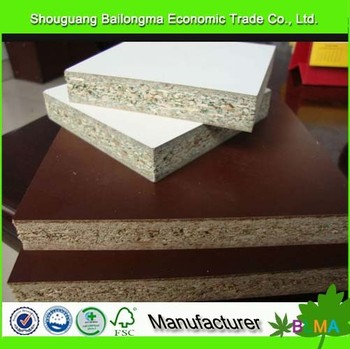 18mm raw / plain particle board malaysia for sell