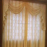 High quality sheer voile window curtain