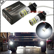 6000K 360-Degree Illuminating 36-SMD H3 LED Replacement Bulbs For Car Fog Lights, Daytime Running Lights, DRL Lamps