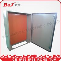distribution sheet steel ip65 electrical metal weatherproof junction box