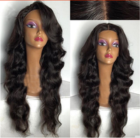 High Quality Wholesale human hair loose wave lace front wigs