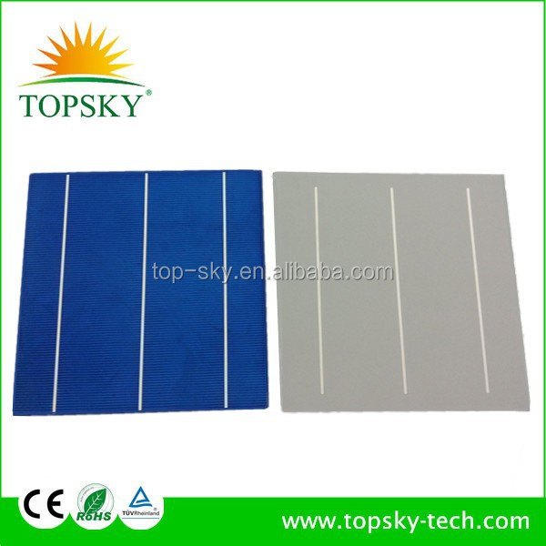 "best solar cell price 156mm x156mm 6"" 4BB/5BB Poly Solar Cell,Multi solar cell Solar panel from Taiwan"