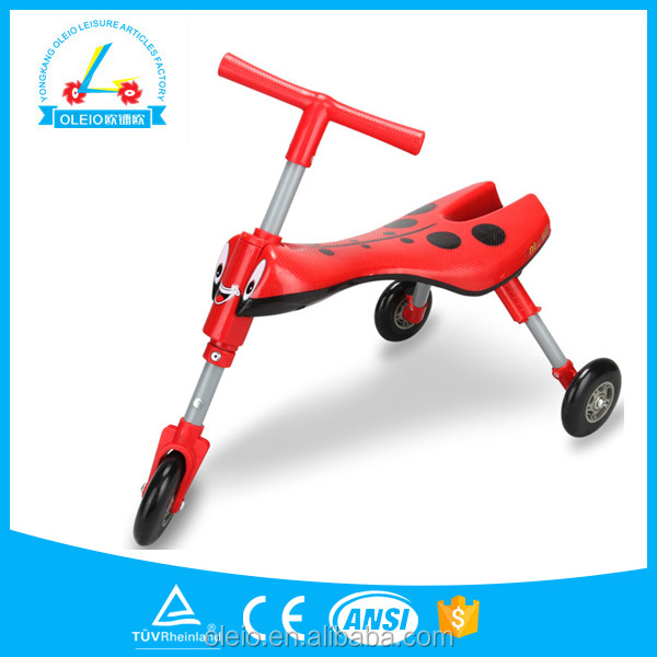 Car ride on kids toys trikes newest folding children baby tricycle