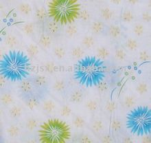 New cotton dandelion print fabric for home textiles