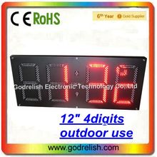 Multifunctional scrolling led clock kit made in China
