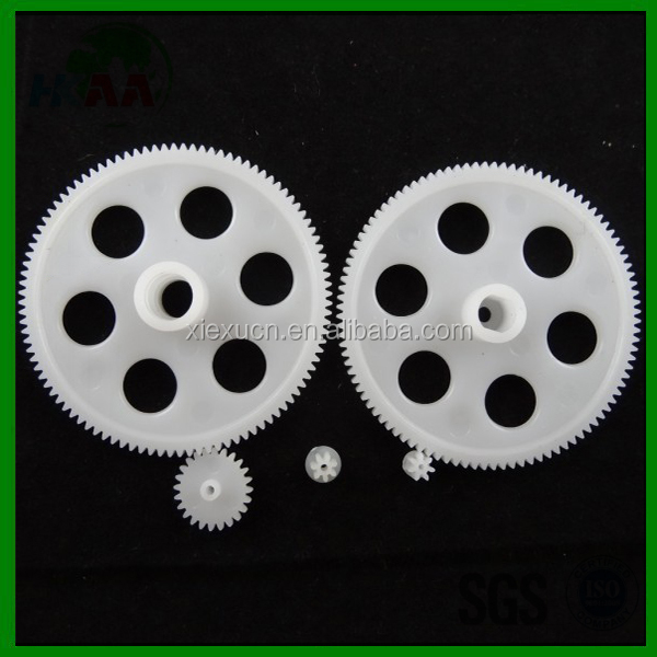 ISO9001 certificate OEM high strength plastic gear for rc helicopter