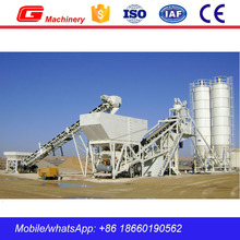 Small Well Sold Mobile Concrete Batch Plant with 200t Bolted Cement Silo