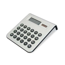 promotion Hairong transparent 8-digit digital solar desk calculator with custom printing
