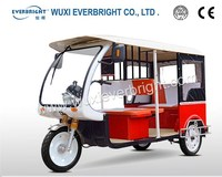 electric three wheeler passenger tricycle