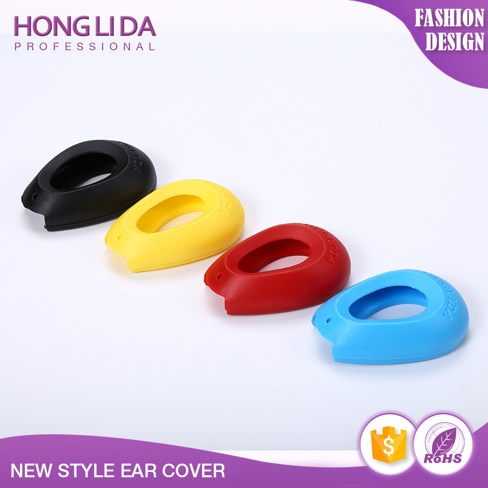 New type plastic ear cover for hair dye and perm in beauty salon