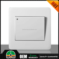 High quality 1 gang flat panel wall switch/ LED Light