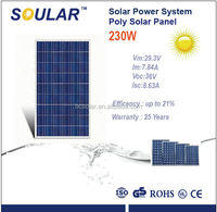230W Popular Poly solar panels For Home Use