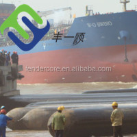 marine airbag for ship launching for Landing Craft Tank LCT
