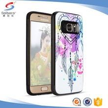 Fashion style TPU+PC Multicolor Printed case for samsung galaxy s8 case mobile phone