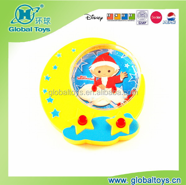HQ8027 Moon shape water game with EN71 standard for promotion toy