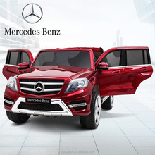 Lisenced Mercedes-Benz GLK 302.4G bluetooth remote control baby electric car battery powered Mp3 SD USB player ride on toys