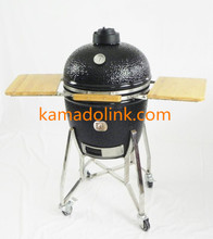 Top Sale Egg Shaped Charcoal Ceramic BBQ Grill Egg Kamado