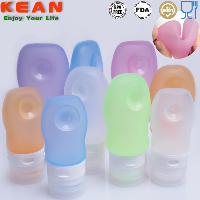 FDA food grade cosmetic silicon tube holder