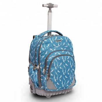 Travel Backpack with Laptop Compartment and Trolley