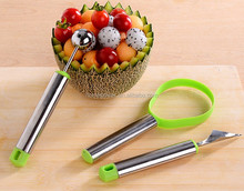 Creative kitchen tool stainless steel carving fruit knife
