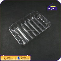 clear plastic fruit tray/plastic vegetable tray