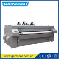 Electric, Gas, LPG, Steam, 2500mm Flatwork sheets iron (Bedsheet, Quilt Cover, Textile, Table Cloth ironing machine)