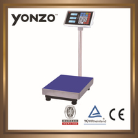 YZ-804 100kg to 500kg electronic digital platform weighing scale parts of weighing scale