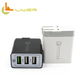 USA amazon hot us plug folding qc3.0 3 port wall charger for iphone