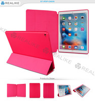 good quality pu leather smart sleep tablet case cover for apple ipad pro