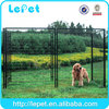 Custom logo Large outdoor galvanized steel expendable dog kennel