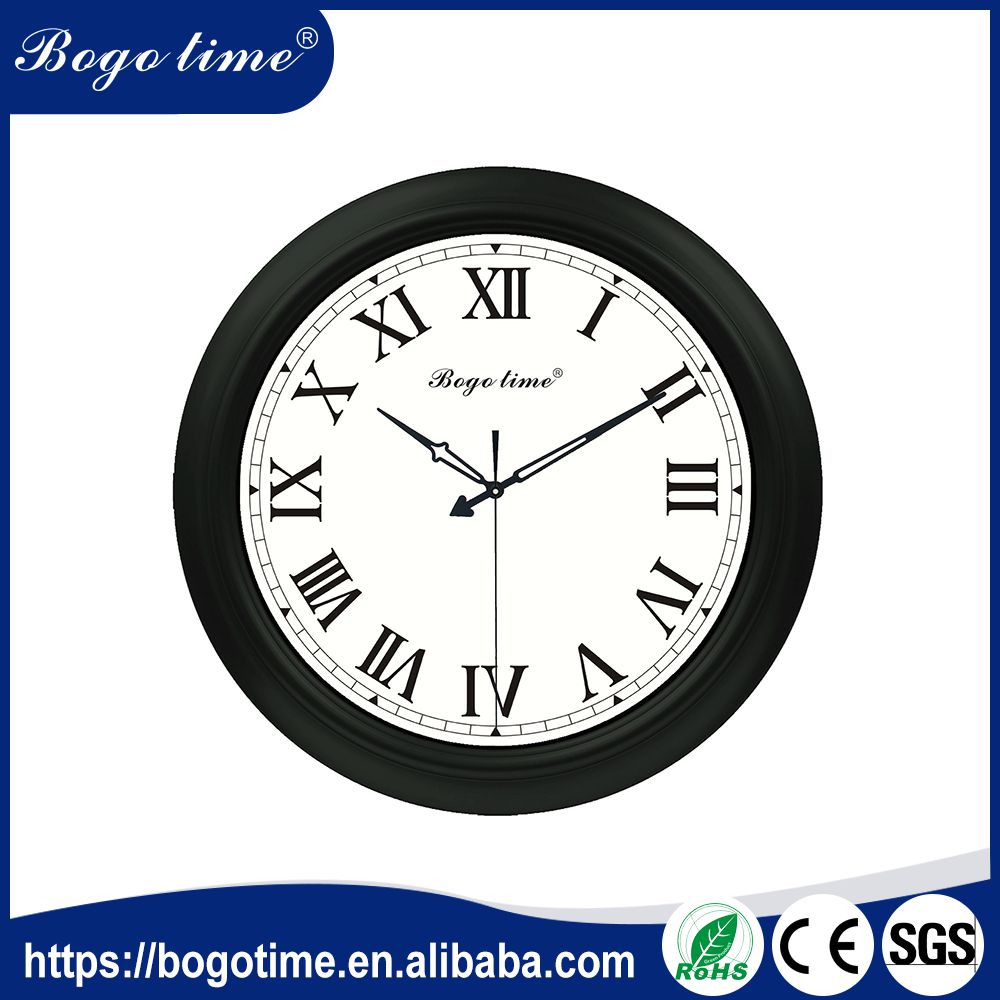 Professional Manufacturer RoHS decorator waterproof outdoor wall clocks