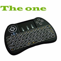 H9 backlit Remote 3 Axis Sensor Fly Air Mouse and 2 4GHz Wireless Keyboard