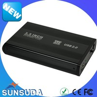 "3.5 Inch USB2.0 to SATA Aluminum HDD Case 3.5"" USB3.0 SSD Enclosure"