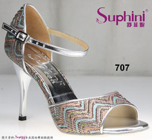high heel sexy fashionable ladies tango dance shoes from Suphini