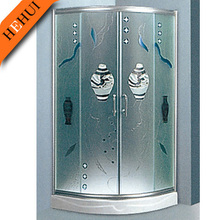 B-21 glass shower enclosure/room/shower cabin custom made shower enclosures and metal hinge shower enclosure