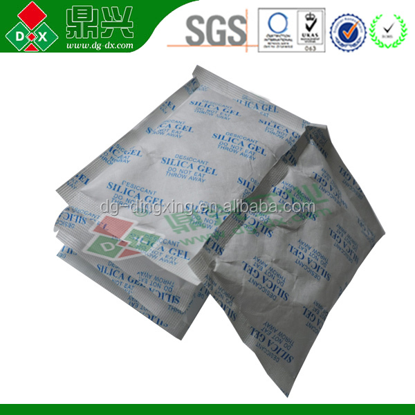 50G Food Grade Silica Gel Desiccants dehumidifier Bag For Moisture Absorbing Products