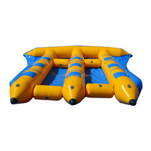 Inflatable fly fish water sports, inflatable flying fish banana boat for sale D3065-2