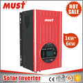 DC To AC Power Inverter With Battery Charger 6KW MPPT Solar Hybrid Inverter