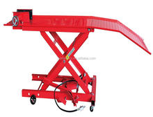 800lbs ce approved air atv/motorcycle lift table
