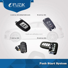 One Way Car Alarm Push to Start Keyless Entry System Remote Start for NissanVenucia