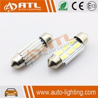 Newest 4SMD 12V 5630 squre canbus festoon auto led lamps