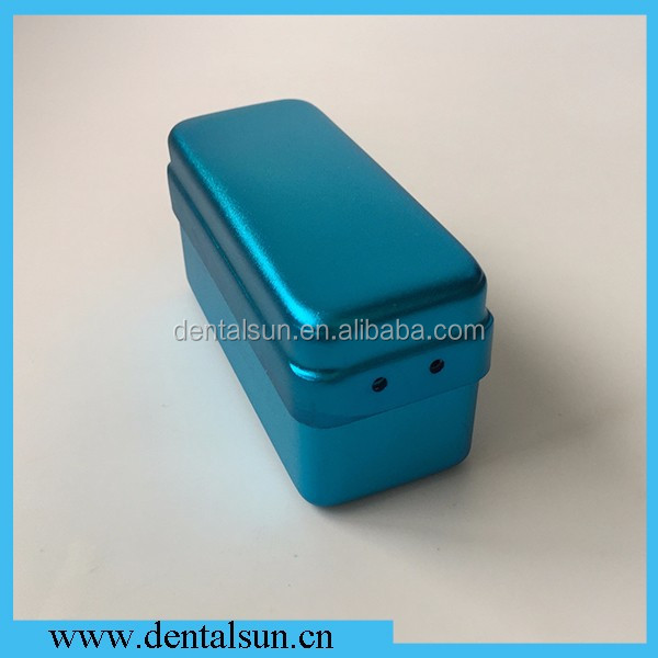 Dental High Speed Bur Disinfection Box Endodontic with 72 holes