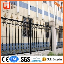 2015 New product outdoor Decorative Wrought Iron fence /iron pickets /steel fence design