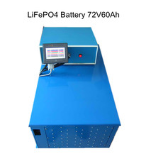 72V60Ah EV lithium battery with BMS