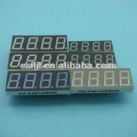 0.49 inch/0.49'' 4 digit/four digit 7 segment led display for supermarket price tag