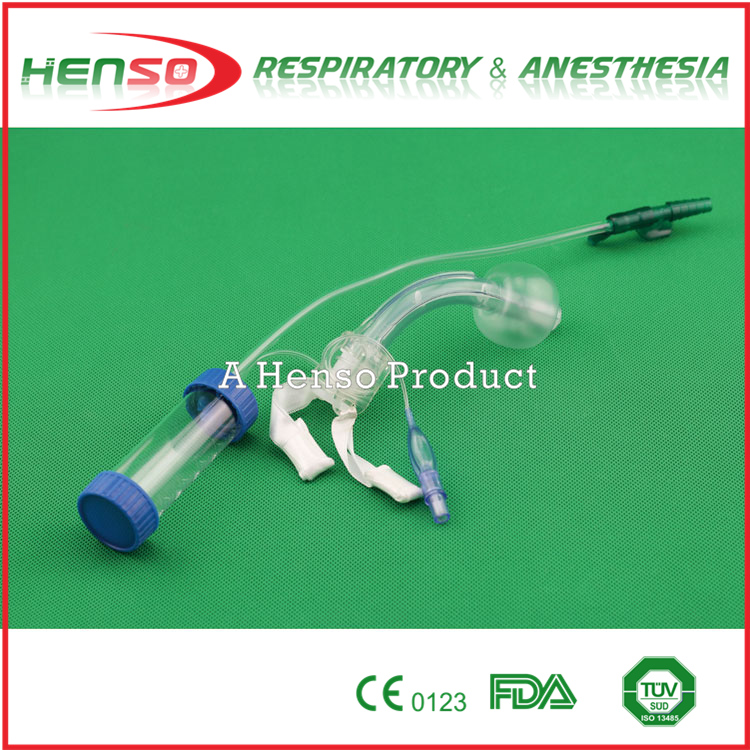 HENSO Tracheostomy Tube With Suction and Mucus Extractor